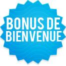 Le bonus de bienvenue sur un site de bingo